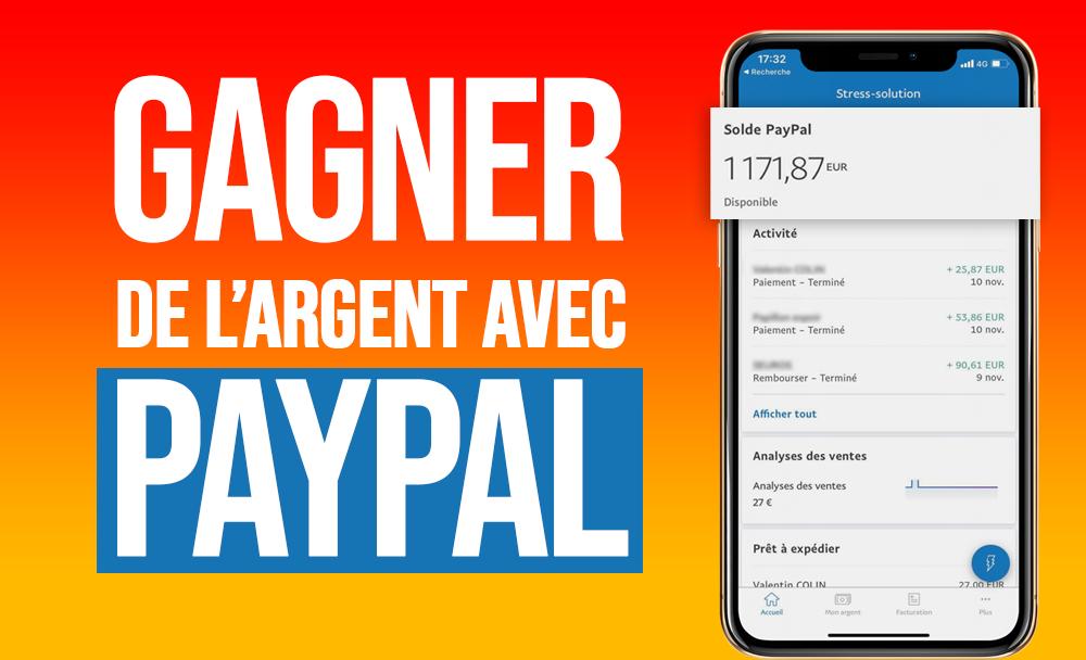 Comment gagner de l'argent PayPal en 2021 ?